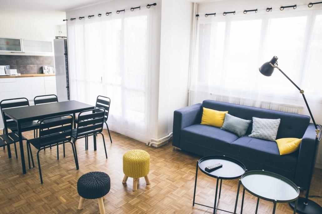 Appartement 2 - Salon 1 | NR Immobilier